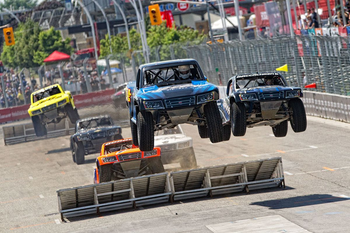 Video Pov Of Some Of The Most Badass Racing Out There Super Stadium Trucks