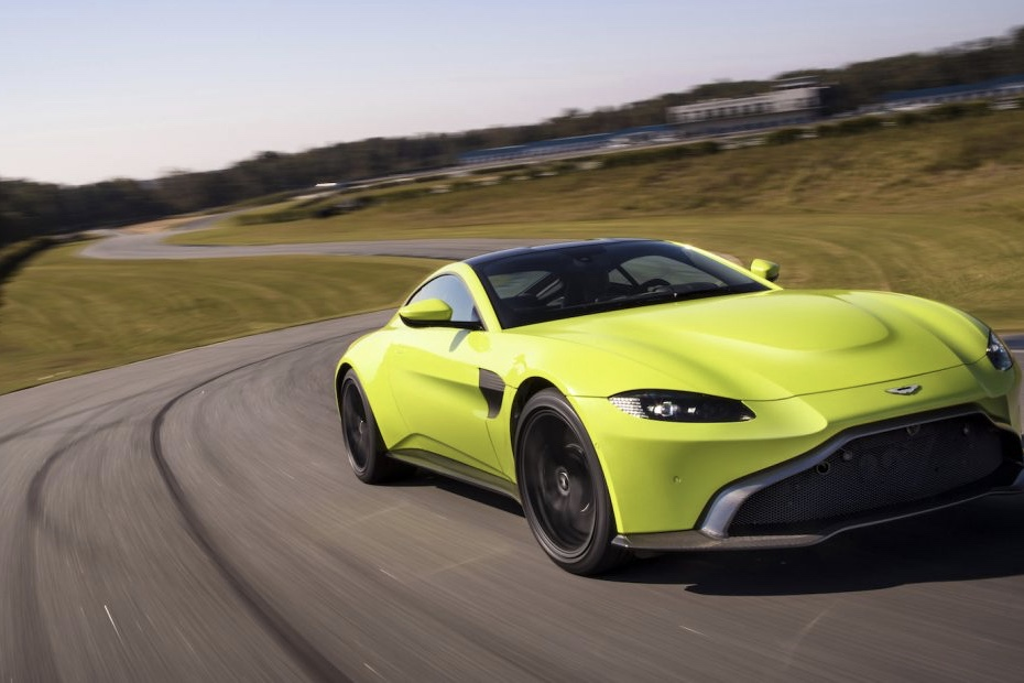 Video The All New Lime Green Aston Martin Vantage