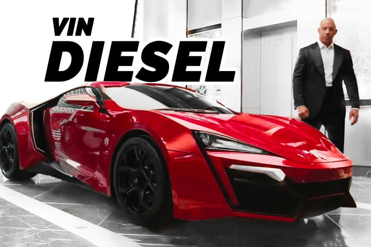 Vin Diesel's Real Car Collection 2020