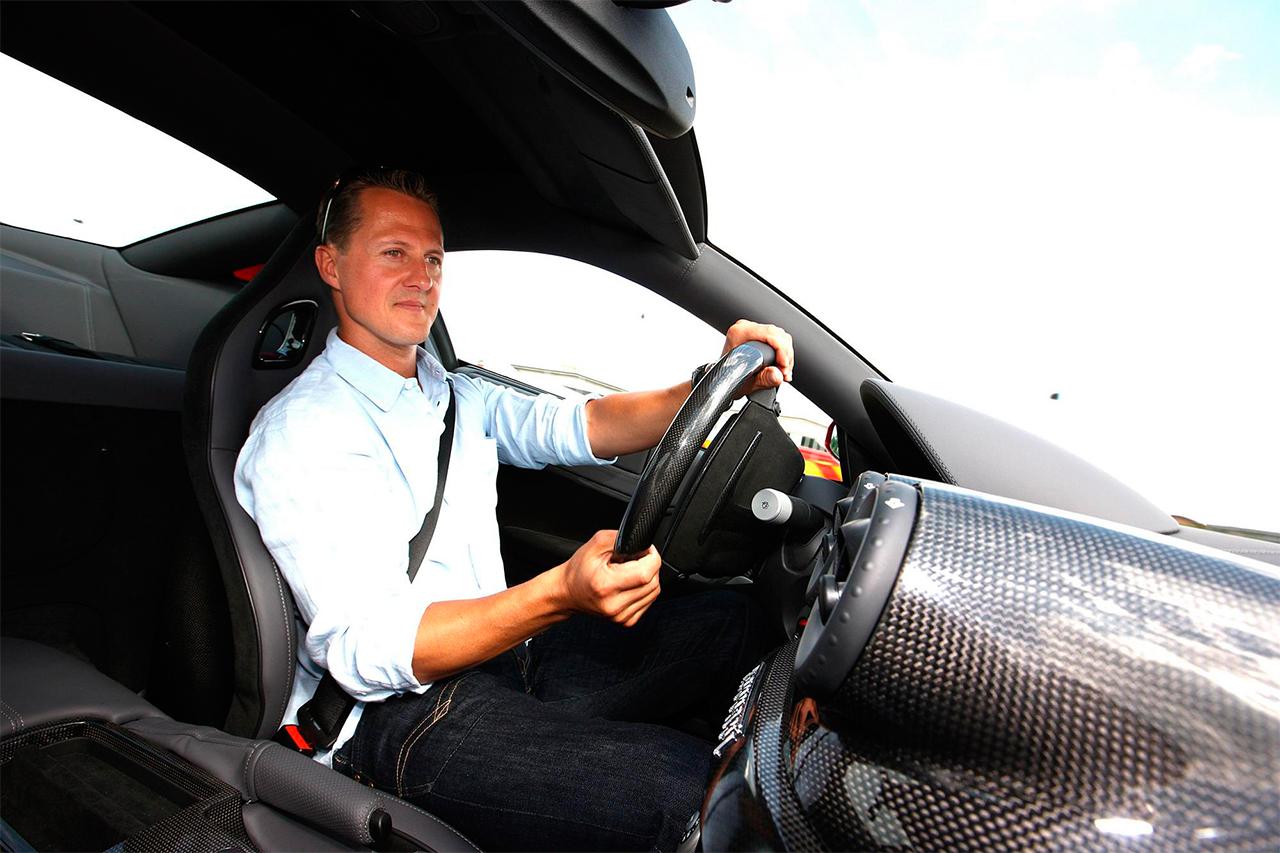 Michael Schumacher Privat