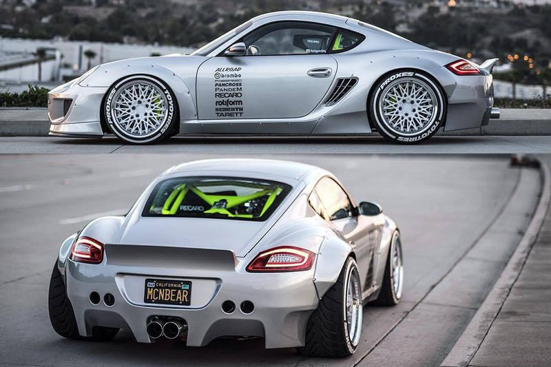 Video This Is The Most Badass Porsche Cayman S Ever