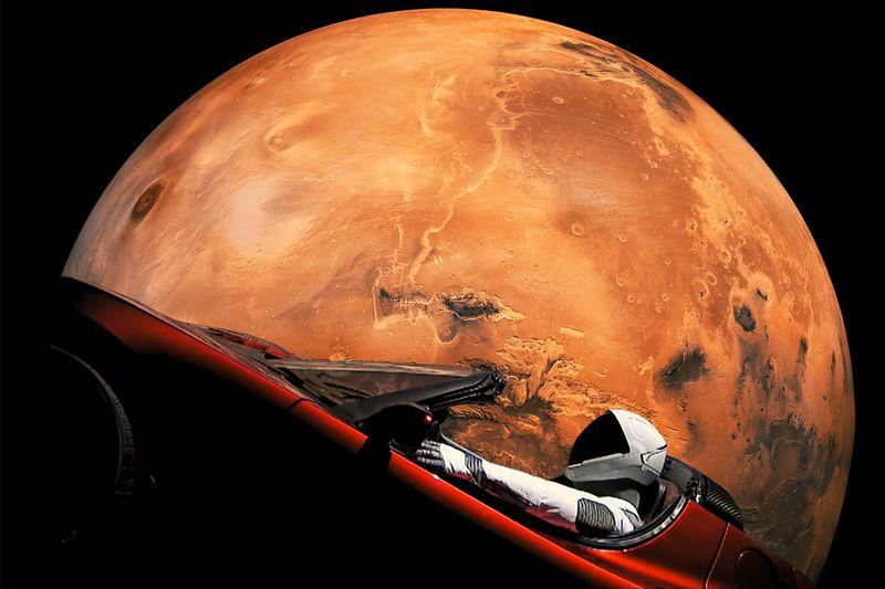 Tesla Roadster In Space Live 2020 : Roadster Tesla In ...