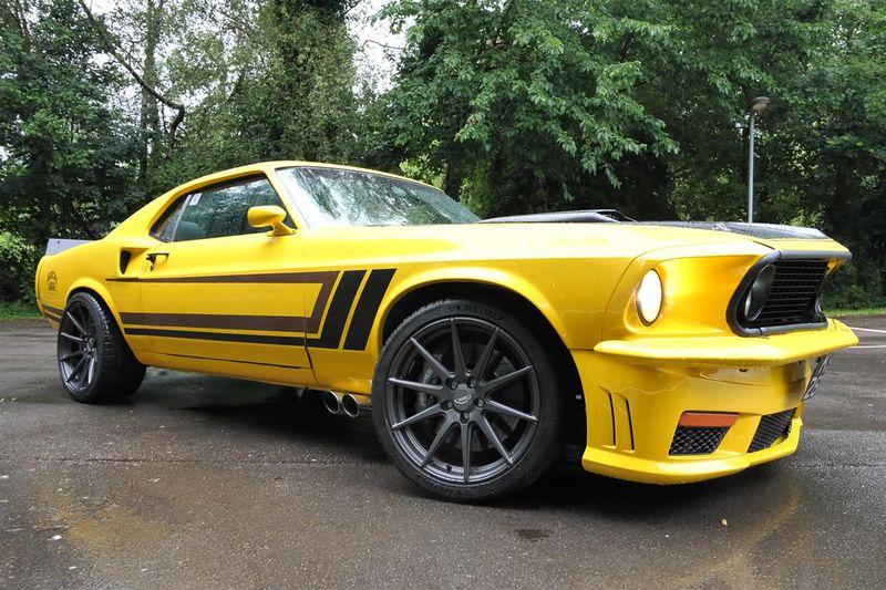 Cars,SXdrv,Anarchy Garage,BHP,721,1969,Mustang,Ford,powered,E63,AMG,721bhp,E63 AMG,Mercedes,