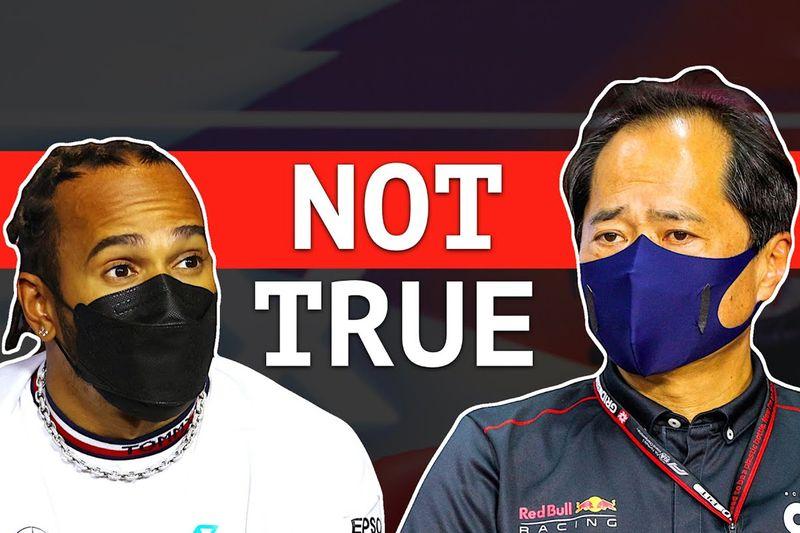 SXdrv,F1,Red Bull,AMG,Mercedes,Toyoharu Tanabe,unit,power,suspicion,Hamilton,Honda,FIA,news,